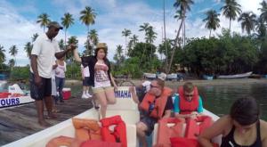 Lost Haitises tour boat