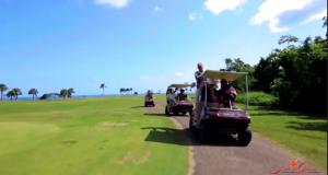 Playa Grande golf carts